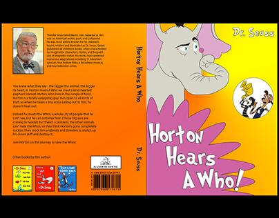 Book Cover - Horton Hears a Who