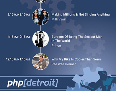 Schedule for PHP Detroit