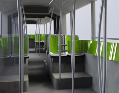 Design of the new E-Busway 24m of Nantes-Fr