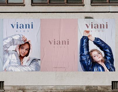 VIANI kids | Brand identity