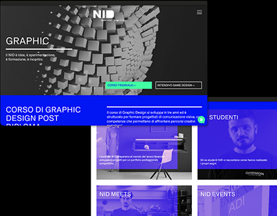 NID—New website