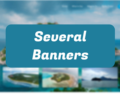 Several Banners