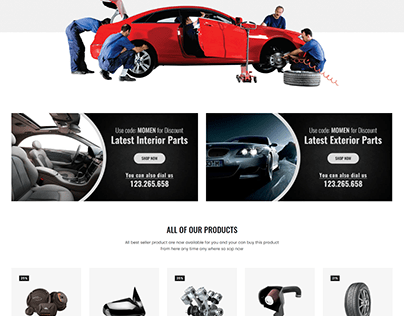 Lukas - Car Parts Store eCommerce HTML Template