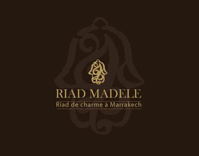 Identité graphique Riad Madele