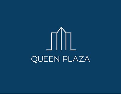 Queen Plaza Baku, Logo brand identity concept