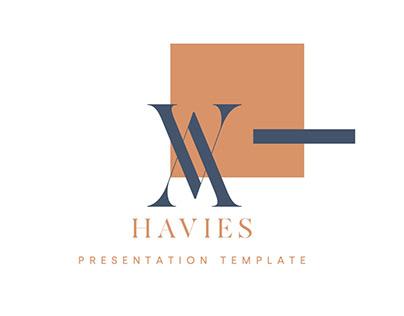 Havies Presentation Template