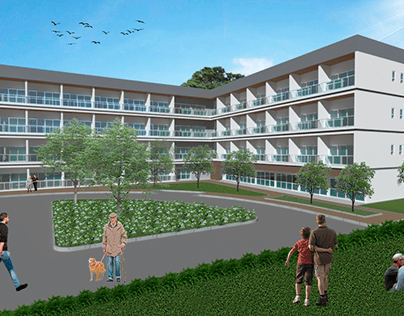 Architecture Project for a Senior Hotel