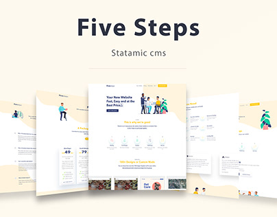 FiveSteps - Statamic cms