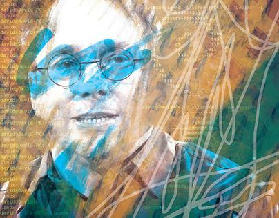 Paintings on Linus Torvalds