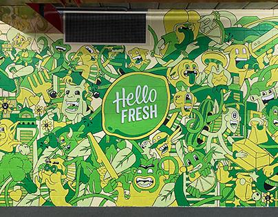 HelloFresh Mural