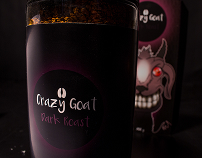 Crazy Goat Coffee - Package Design