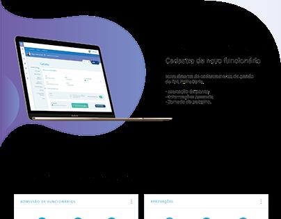 UI/UX - Dashboard FolhaCerta
