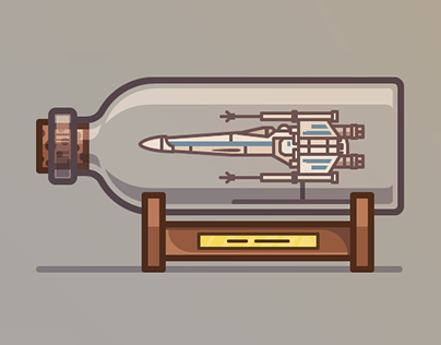 Spaceships in Bottles