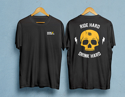 Barone Brewing Co T Shirt Design