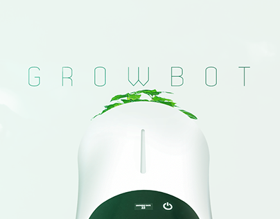 GrowBot - The First Fully Autonomous Smart Planter