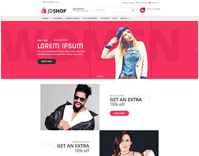JD Shop - E-commerce Joomla Template