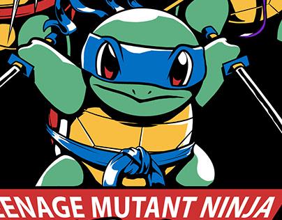 Teenage Mutant Ninja Squirtles