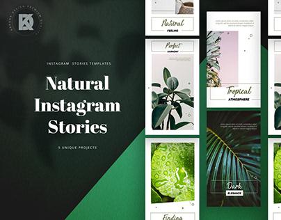 Natural Instagram Stories