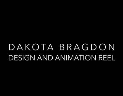 Animation and Design Reel