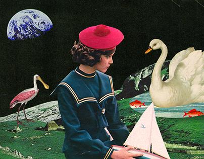 Surrealist Collage Art