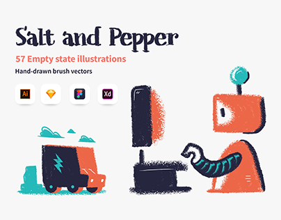 Salt and Pepper illustrations