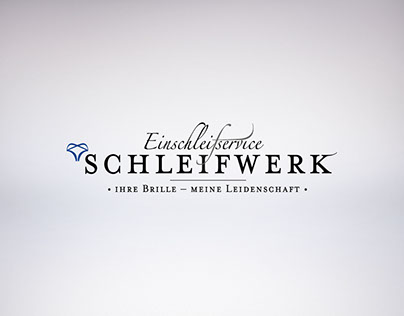 "Corporate Identity for ""Schleifwerk"""