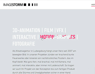 IMAGESTORM Animations
