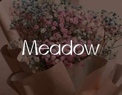 """Логотип для цветочного магазина """"Meadow"""""""
