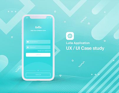 Lulla - UX/UI Case Study