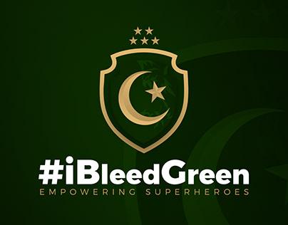 IBleedGreen - Logo Concept