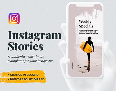 Searles Instagram Story Template