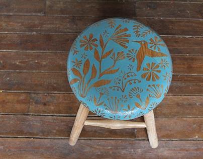Humming Bird stool