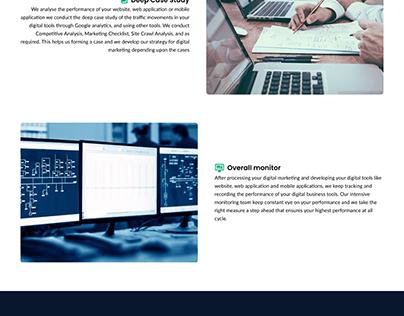 sample homepage design
