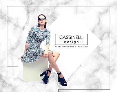 CASSINELLI DESIGN - Rediseño de Logotipo y Concepto
