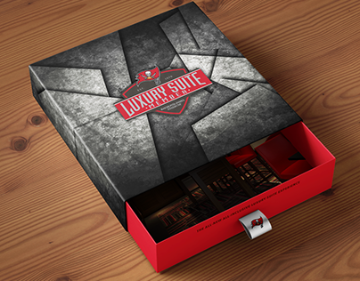 2016 Luxury Suite Ticket Package Mockup