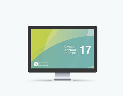 CMHA Annual Report Redesign