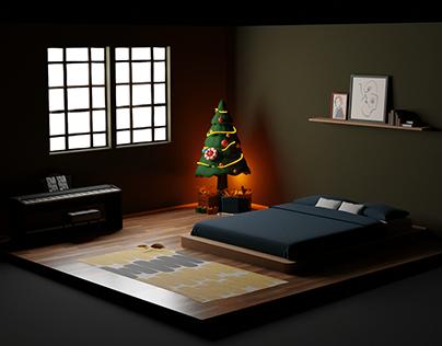 Isometric Tiny Room Design - Idea #1