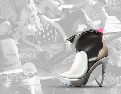 UNRESTRAINED GLAMOUR / Shoe Design