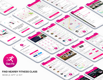 Get Fit - Find Nearby Fitness Classes