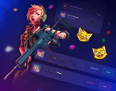 MeowSkins - Crash Game / Gambling