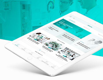 Metrohm iPad Application (UI/UX)
