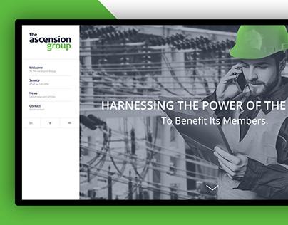 The Ascension Group-Website Design