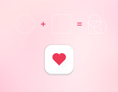 Icon App Design | Linguagem do Coração