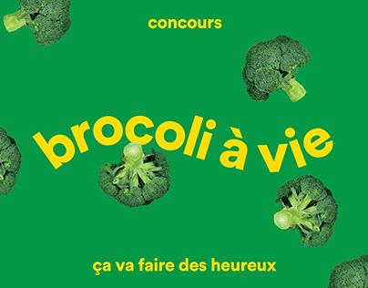 Concours Brocoli à vie