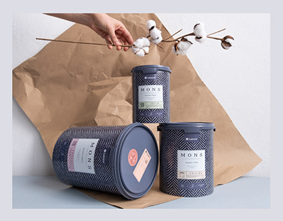 M O N S. premium interior paints packaging