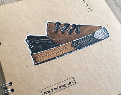 [2017] Sneaker Sketches - Existing sneakers