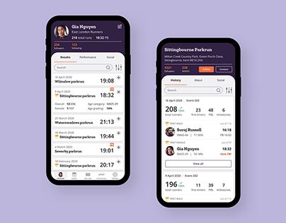 MyParkrun app
