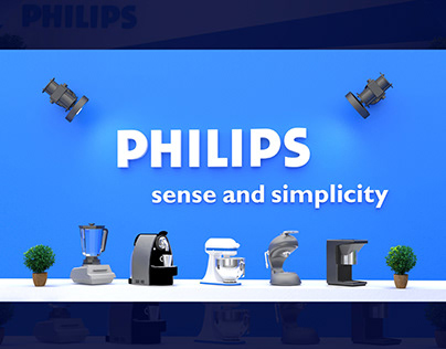 """PHILIPS"" Booth"