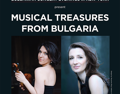 FOH Poster for Musical Treasures from Bulgaria 2017