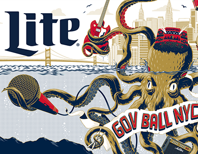 Miller Lite Posters 2016